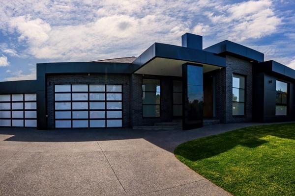 Clearlite Night Sky Frame with Acrylic Inserts (Opal), Custom Garage door, Roller Door Night Sky with Pelmet & Jambs