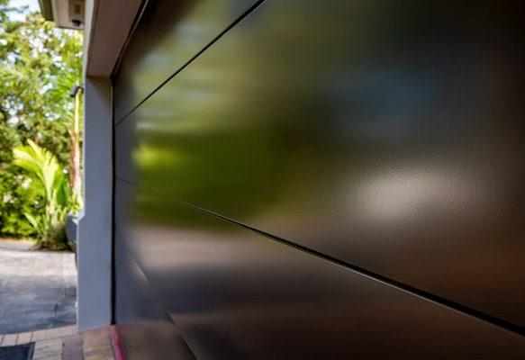Custom Garage Door, Galva Panel (Matt)