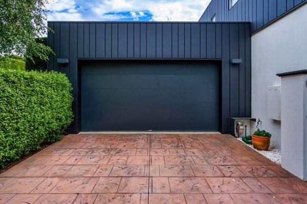 Custom Garage Door, Galva Panel Monument (Matt)